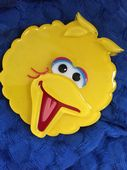 Big Bird Brooch - Sesame Street Big Bird Pin by Erstwilder